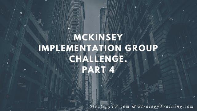McKinsey Implementation Group Challen...