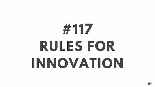 117 100 TP1 Rules for Innovation
