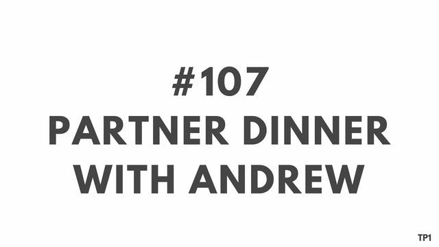 107 90 TP1 Partner dinner with Andrew