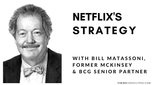 83 FSS Bill Matassoni. Netflix's Strategy