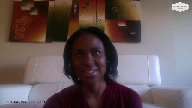 CSCI Jen Nwankwo Joins Bain. Lessons Learned