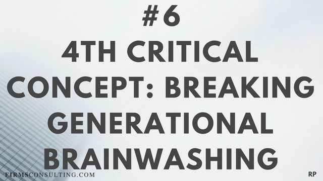 6 RP 4th Insight. Breaking generation...