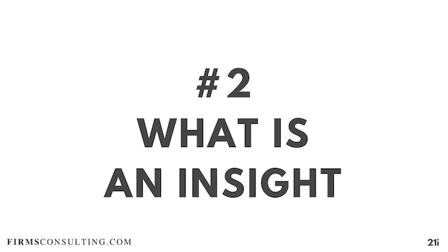 2 21D I What is an insight