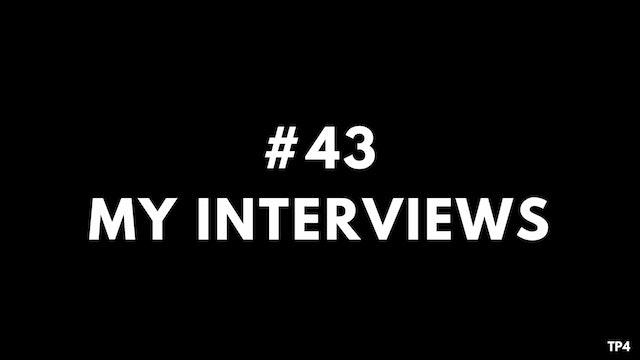 43 BAR7 TP4 My interviews