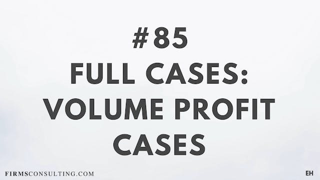 85 15 3 2 EH Full cases. Volume Profi...