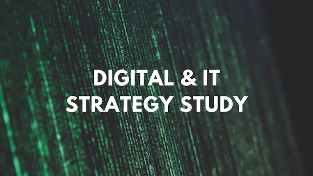 Digital & IT Strategy Training Program