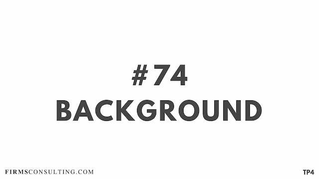 74 BAR 19.2 TP4 Background