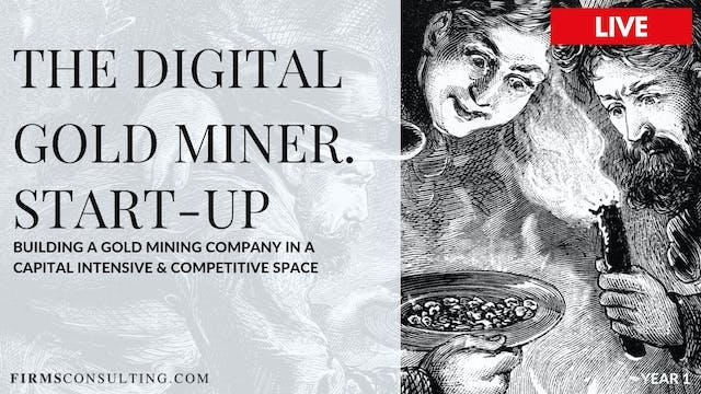 The Digital Gold Miner. Start Up