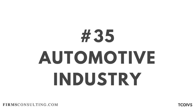 35 TCOIVSizan. Automotive industry an...