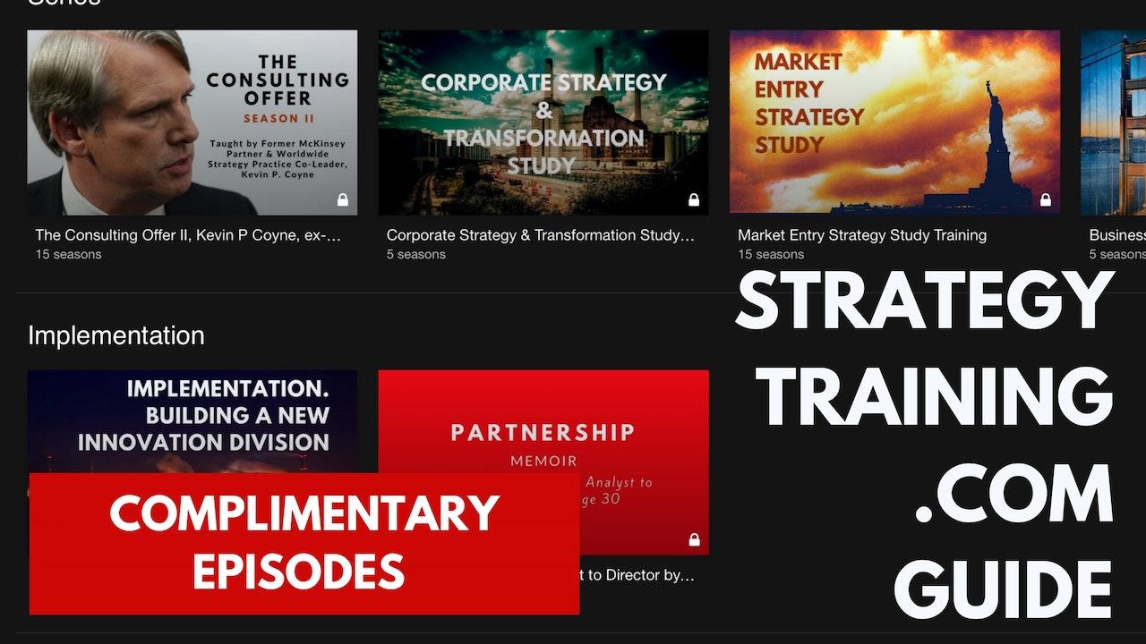 Guide to StrategyTraining.com