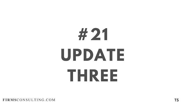 21 TS 21 Update Three