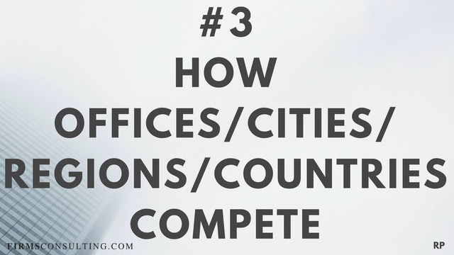 3 RP 1st Insight. How offices, cities, regions and countries compete
