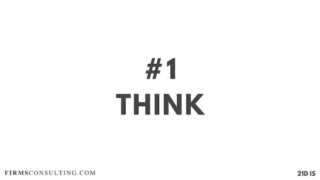 1 21D IS Think