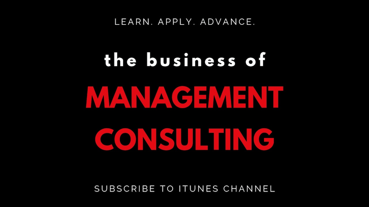The Business of Management Consulting