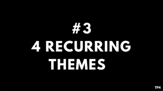 3 A3 TP4 4 Recurring themes throughout my career