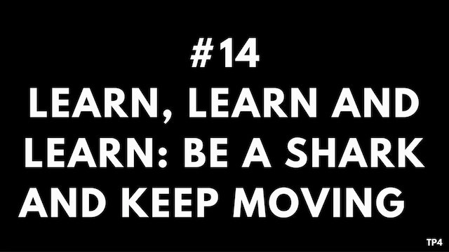 14 T10 TP4 Learn, learn and learn - b...