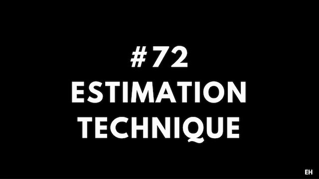 72 15 1 2 EH Estimation