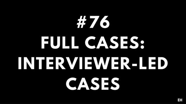 76 15 2 3 EH Full cases. Interviewer-...