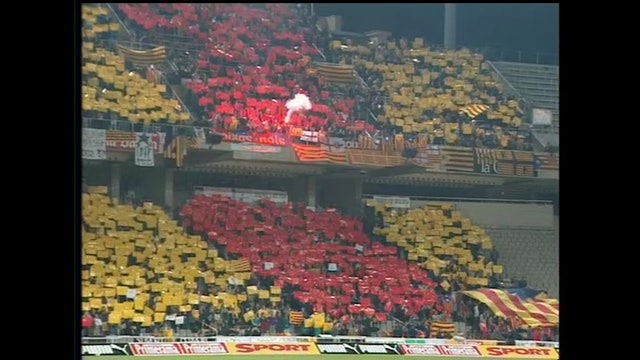 Futbol Catalunya - Bulgaria 23-12-1997