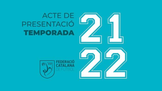 ACTE PRESENTACIÓ TEMPORADA 21/22