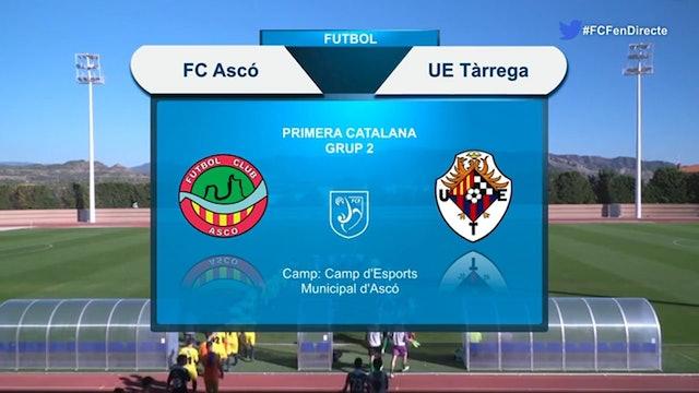 FC Ascó - UE Tàrrega