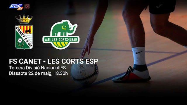 FS Canet - Les Corts Esp. Futsal