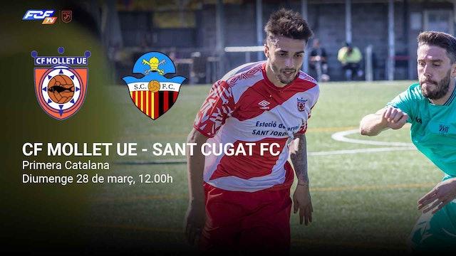 CF MOLLET UE - SANT CUGAT FC