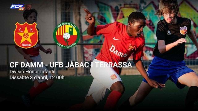 CF DAMM - UFB JÀBAC I TERRASSA