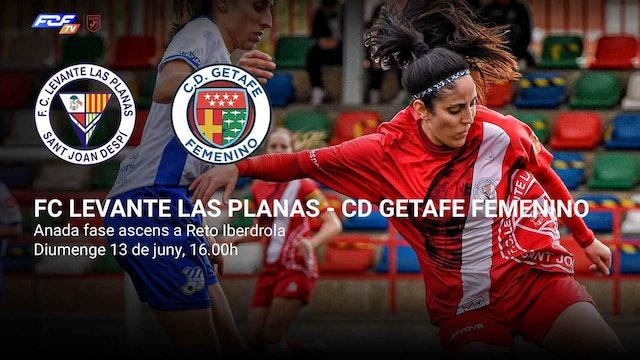 FC LEVANTE LAS PLANAS - CD GETAFE FEMENINO