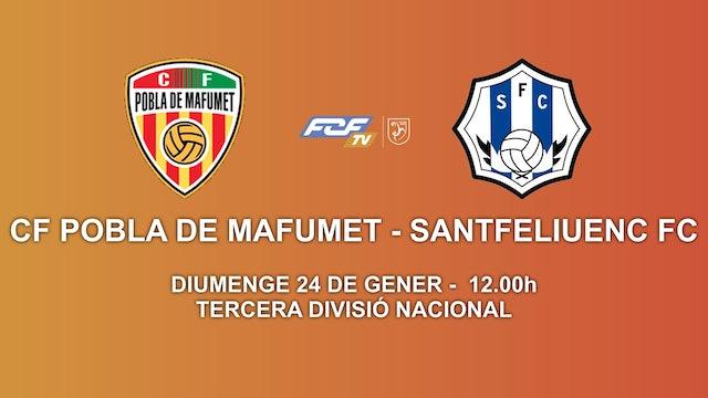 CF POBLA DE MAFUMET - SANTFELIUENC FC