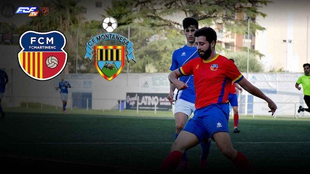 Futbol FC MARTINENC - CF MONTAÑESA
