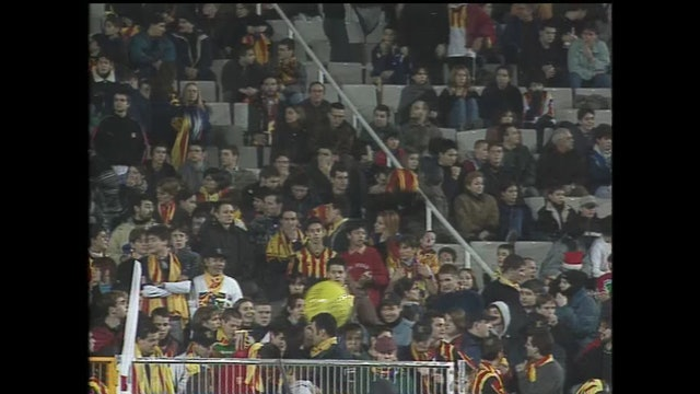 Futbol Catalunya - Iugoslavia 23-12-1999