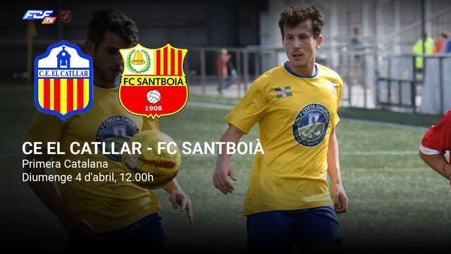 CE EL CATLLAR - FC SANTBOIÀ