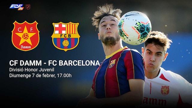 CF DAMM - FC BARCELONA