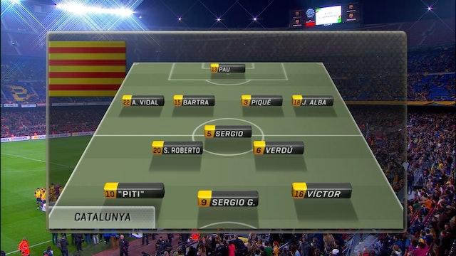 Futbol Catalunya - Euskadi 26-12-2015