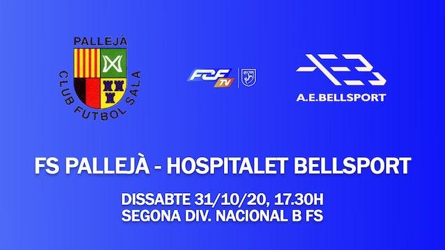 Pallejà FS - Hospitalet Bellsport (2a Div. Nacional B FS)