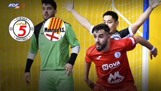 Futsal  5 MARTORELL CLUB SALA - COVISA MANRESA 2ª DIVISIÓ NACIONAL B