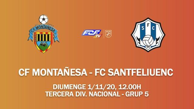 CF MONTAÑESA - FC SANTFELIUENC