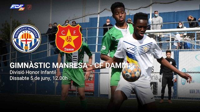 GIMNÀSTIC MANRESA - CF DAMM