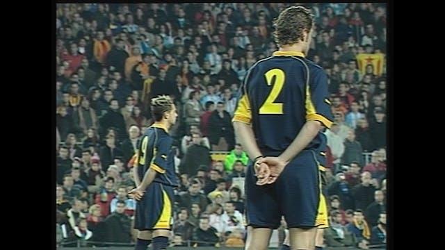Futbol Catalunya - Argentina 29-12-2004
