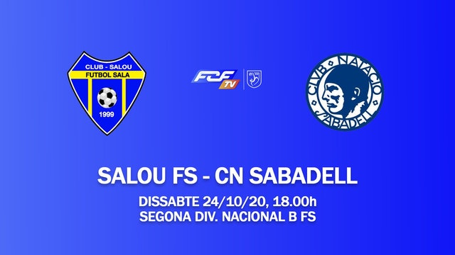 SALOU FS - CN SABADELL