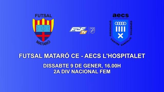 FUTSAL MATARÓ CE - AECS L'HOSPITALET