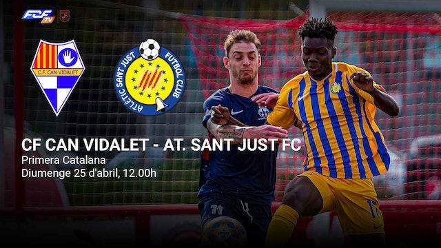 CF CAN VIDALET - AT. SANT JUST FC