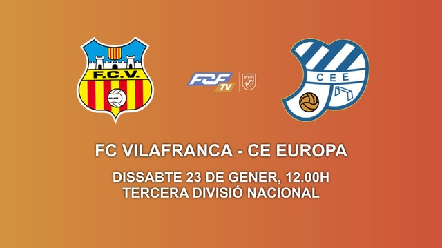 FC VILAFRANCA - CE EUROPA