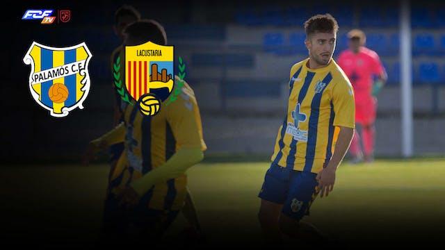 Futbol  PALAMOS CF - UE LLAGOSTERA-CO...