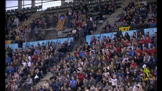 Futbol Sala Catalunya - Brasil 0-4