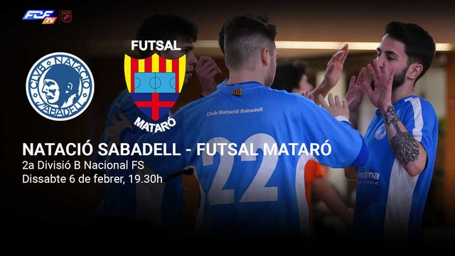 Natació Sabadell - Futsal Mataró