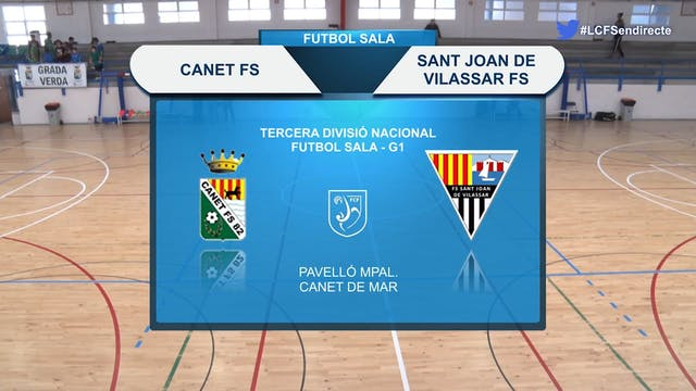 26-10 Canet FS - Sant Joan de Vilassar