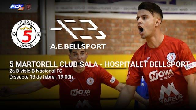 5 Martorell Club Sala - Hospitalet Be...