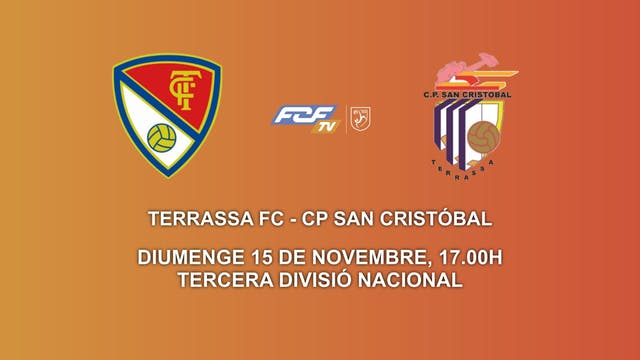 TERRASA FC - CP SAN CRISTÓBAL